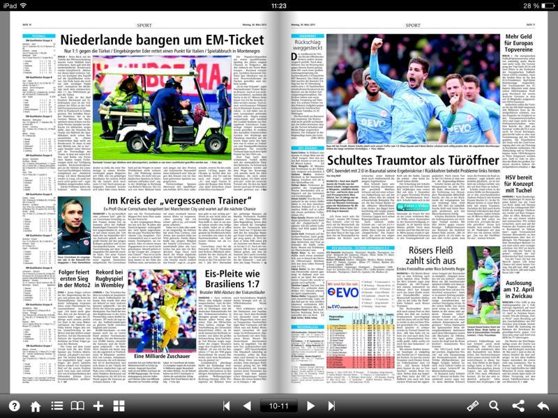 So funktioniert das E-Paper der Offenbach-Post