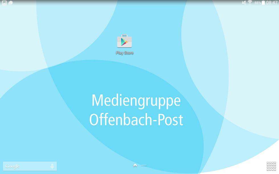 So finden Sie die Offenbach-Post E-Paper-App im Play-Store
